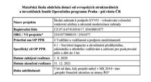 Operačního programu Praha - pól růstu ČR